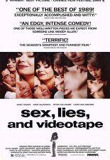 섹스 거짓말 그리고 비디오테이프 포스터