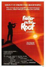지붕 위의 바이올린 포스터