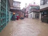 네팔 몬순 홍수로..