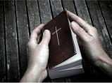 예배 때 성경책이..