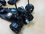 드리프트 자동차의 변속기 작업