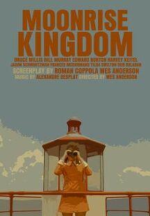 문라이즈 킹덤 포스터