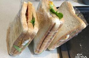 런치박스, 매일 아침 준비하는 아내의 샌드위치