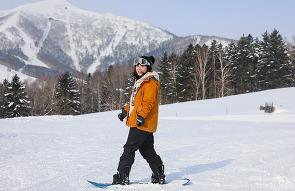 홋카이도 여행, 첫 스키는 홋카이도에서 호시노 리조..