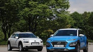 소형 SUV 비교 시승, 현대 코나 VS 시트로엥 C4 칵투스