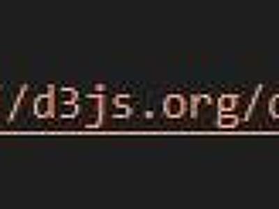 D3.js를 이용하여..