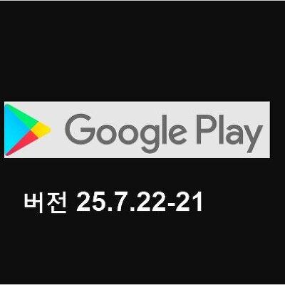구글 플레이 스토어 앱 버전 25.7.22-21 업데이트 라이브러리 뭔가?