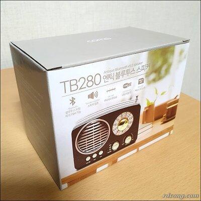 coms 엔틱 블루투스 스피커 TB280 - 클래식한 휴대용 블루투스 라디오 스피커 후기