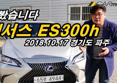 렉서스 신형 ES 300h 타봤습니다 (시승, 디자인, 리뷰, 캠리, 소음) [카미디어]