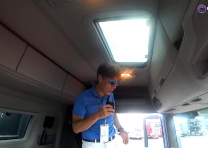 [카링TV] 대형트럭 실내, 침대, 내장고,는 기본, 깜짝 놀랄준비 하세요. 올 뉴 스카니아 론칭행사