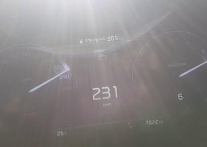 기아 더 K9 3.8 GDI AWD 급가속(2019 Kia K900 3.8 AWD Acceleration)