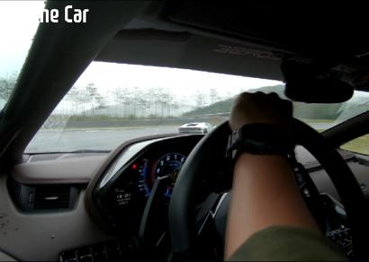 [로드쇼] 폭우 속 람보르기니 아벤타도르 S 서킷 주행