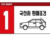 1월 국산차 판매조건 총정리..차분한 새해 '숨고르기'