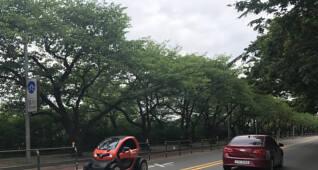 도시형 초소형 전기차 르노 '트위지'