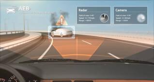 자율주행차 감각을 대신해주는 'ADAS 센서'