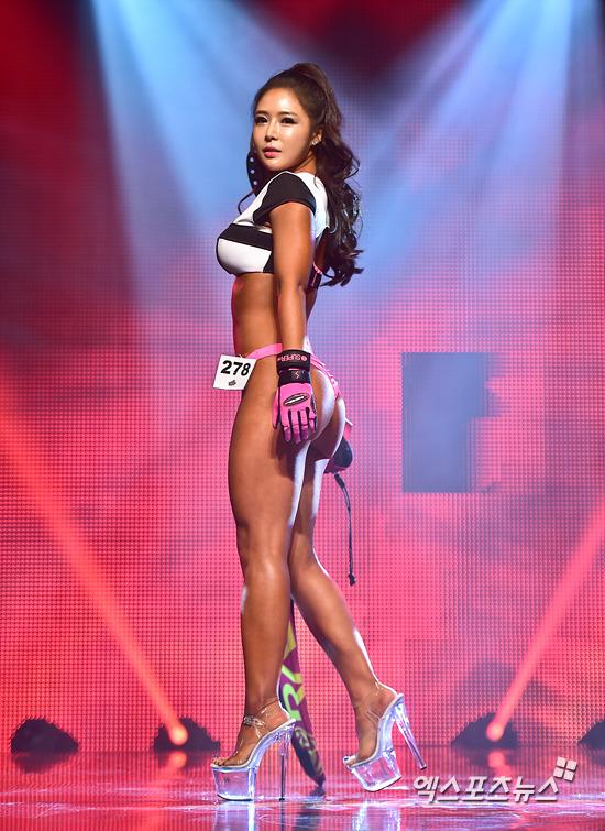 피트니스 모델이자 요가강사 이소희