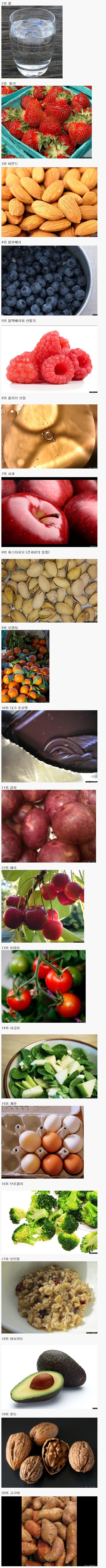 전문가들이 뽑은 건강식품 Top 50.jpg