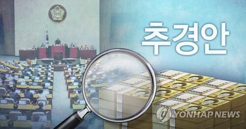 국회, 추경안 심사 (PG) [권도윤, 정연주 제작] 사진합성·일러스트