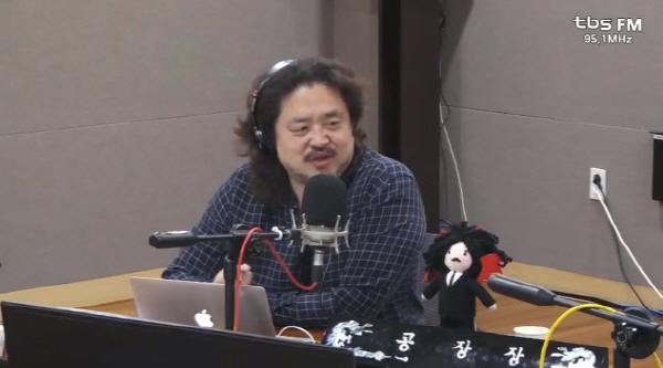 ▲ tbs교통방송 '김어준의 뉴스공장'의 진행자 김어준씨.