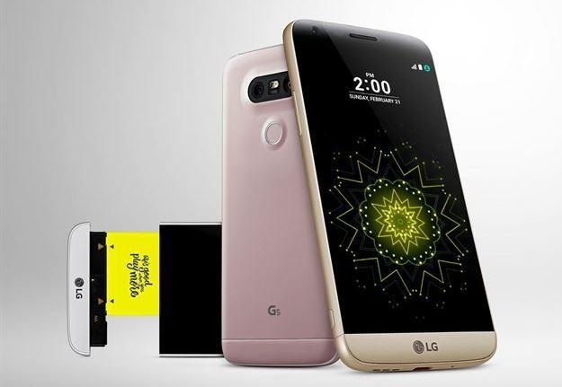 2016년 3월 출시된 LG G5는 국내에서 처음 USB 타입 C가 적용된 모바일 기기다. LG전자 제공