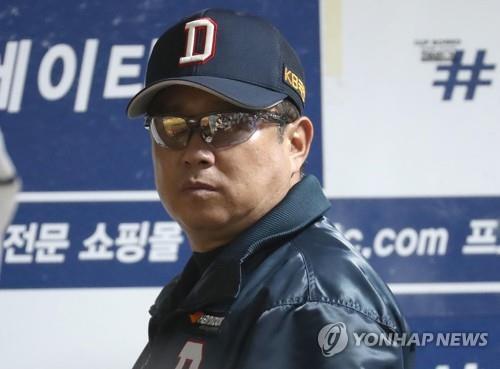 두산 김태형 감독 [연합뉴스 자료사진]