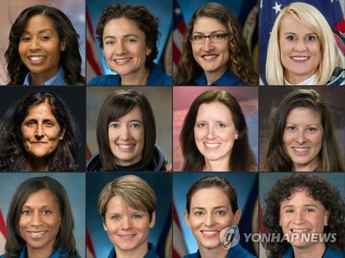 2024년 달착륙 후보 여성 우주 비행사 (아르테미스 계획)