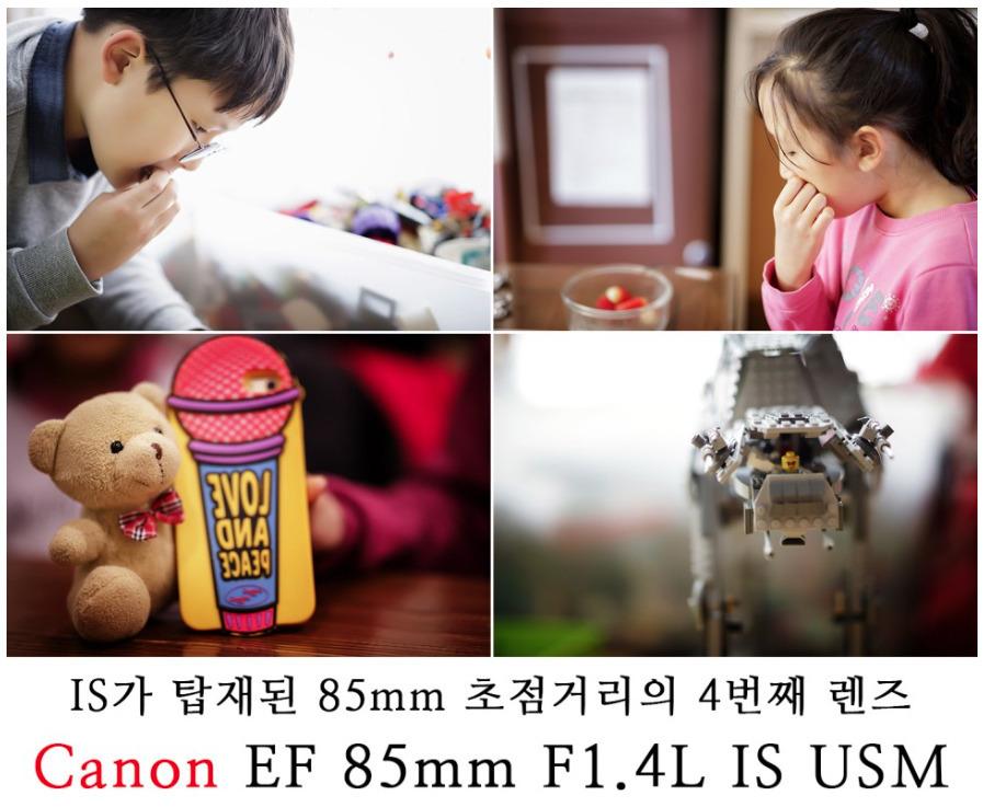 [EF 85mm F1.4L IS USM 리뷰_1] IS가 탑재된 85mm 초점거리의 4번째 렌즈 EF 85mm F1.4L IS USM