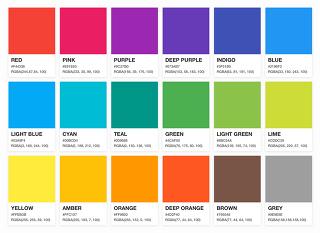 모바일 UI 디자인 기본 요소 - 색채 Color
