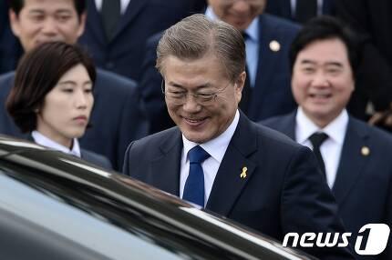 문재인 대통령. © News1 민경석 기자