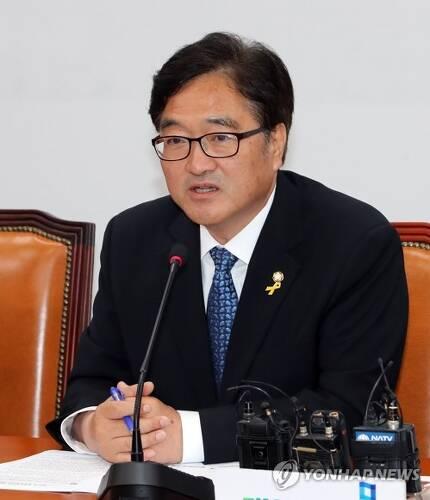 더불어민주당 우원식 원내대표[연합뉴스 자료사진]