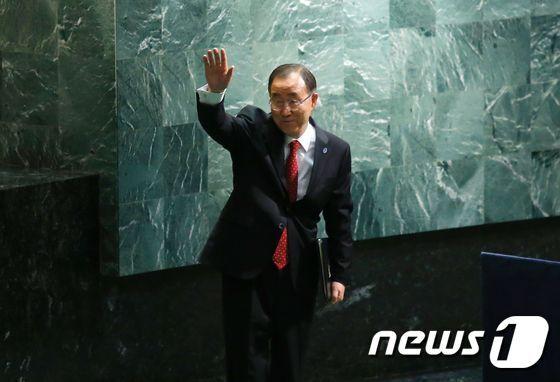 반기문 유엔 사무총장© AFP=뉴스1 © News1 우동명 기자