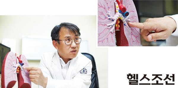 [헬스조선]대한폐암학회 류정선 홍보이사(인하대병원 폐암센터장)