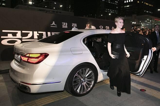 BMW 그룹 코리아, 영화 공각기동대 출연 및 제작진에 의전차량 제공.
