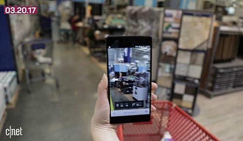 애플이 올해 선보일 아이폰8에도 AR 기능이 포함시킬 것으로 전망되고 있다. (사진=씨넷)