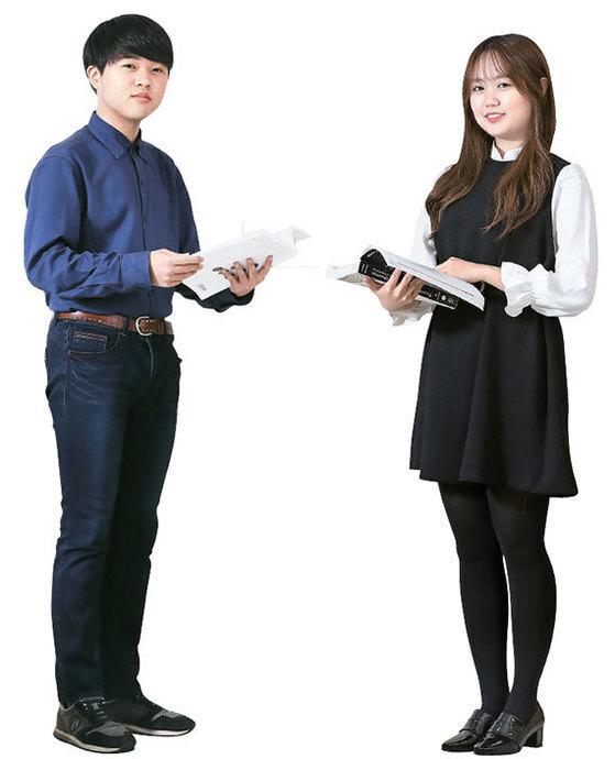 류현호(左), 황지현(右)