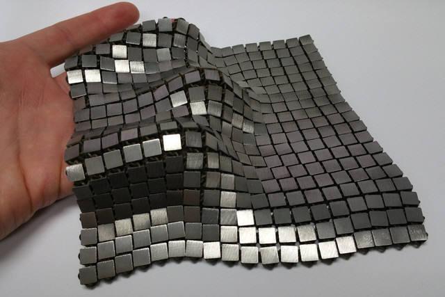 """NASA가 개발한 """"4D 프린팅"""" 구조물"""