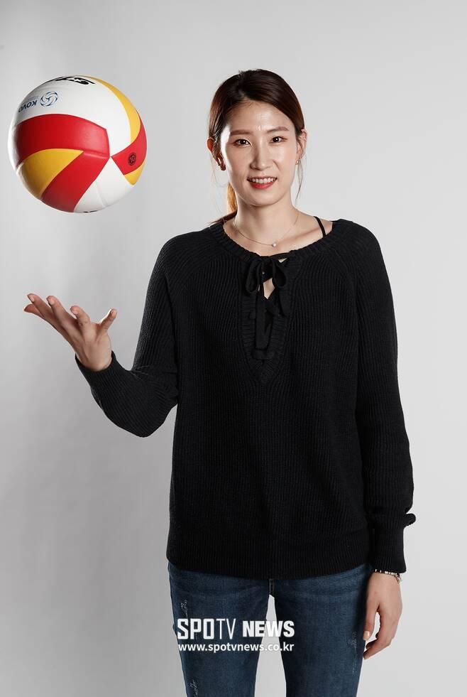 ▲ 김수지 ⓒ 한희재 기자