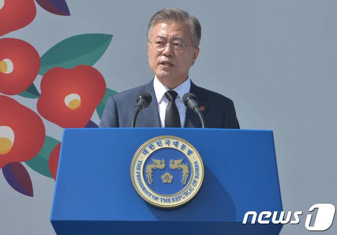 문재인 대통령. © News1 이석형 기자