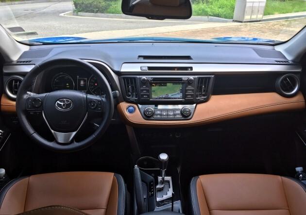 한국도요타의 스포츠유틸리티차량(SUV) 라브4 하이브리드 / 사진=박상재 기자