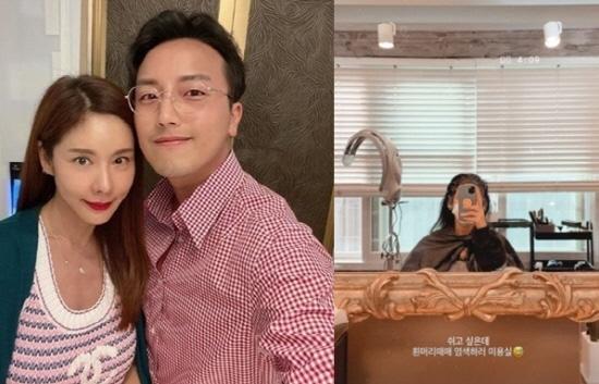 '46세' 김준희, 연하와 재혼하더니 흰머리 걱정
