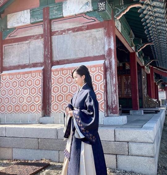 김소현 한복 사진, 中 누리꾼 망언 쏟아져