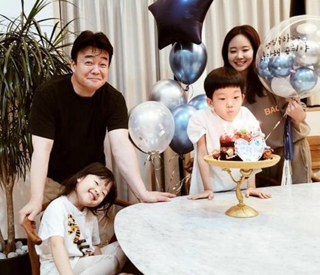 백종원소유진, 子 생일도 어마어마하게...온집안 파티장으로 꾸민 '화목한 가족'