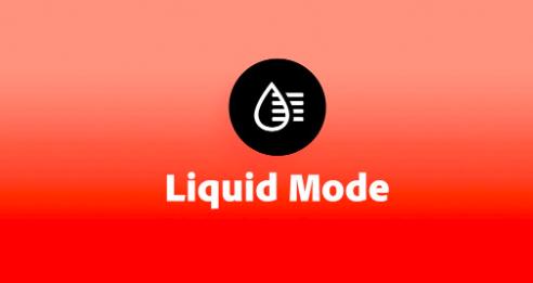 어도비 PDFs 리퀴드모드(Liquid mode) : 휴대폰 최적화