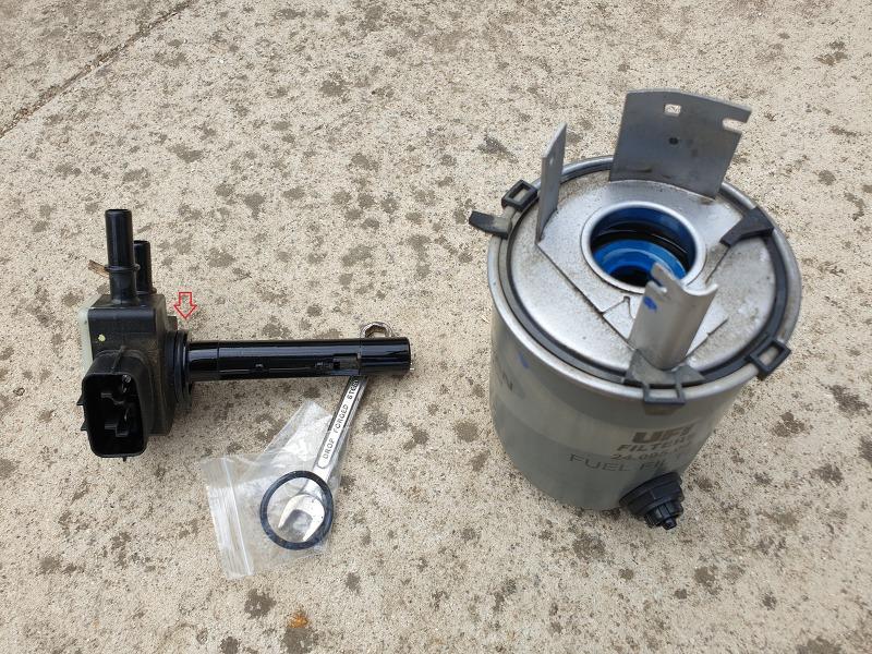 QM6 디젤 연료필터 구입후 직접 교체