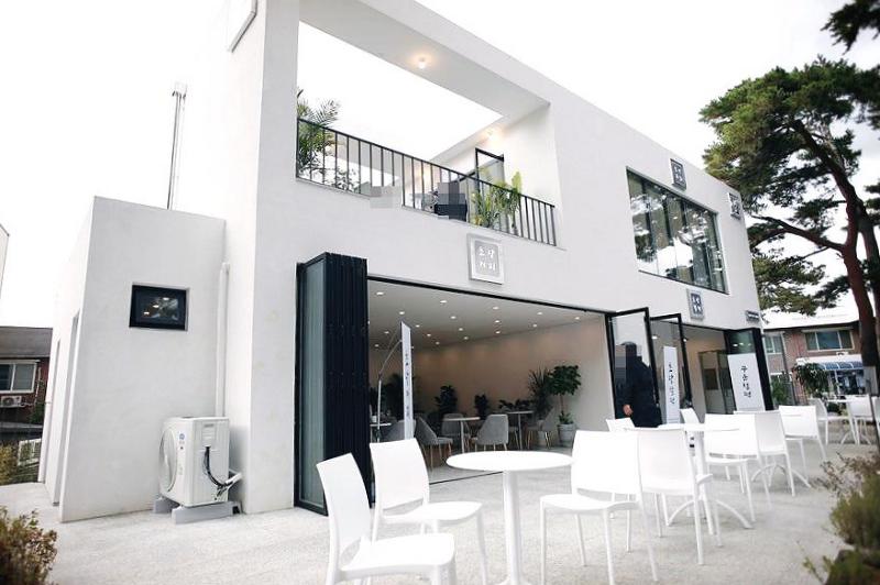 강문 해변 카페 명소