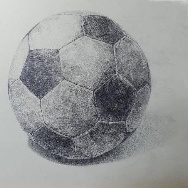 2021.03.24. soccer ball drawing