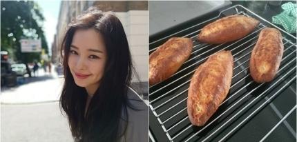 """이하늬, '바게트→리코타치즈' 직접 만든 건강 식단 """"정성스럽게""""[SNS컷]"""