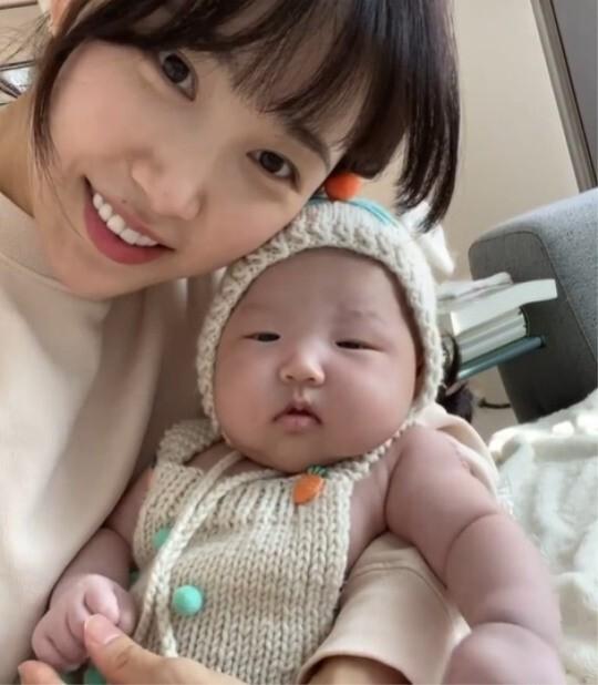 최희, 딸 낳고 10kg '폭풍 감량'하더니…부쩍 어려진 미모