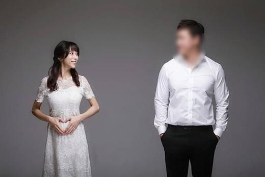 조민아 만삭 사진, '너무 말랐다'는 네티즌에 답글