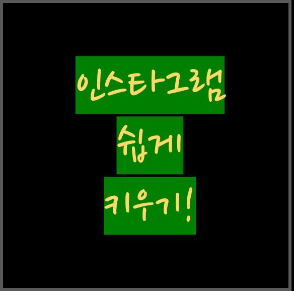 인스타그램 계정 무료로 팔로워, 좋아요 쉽게 키우기(feat. 라이크리)